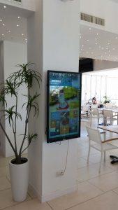Punto digital Signage Hotel Nettuno